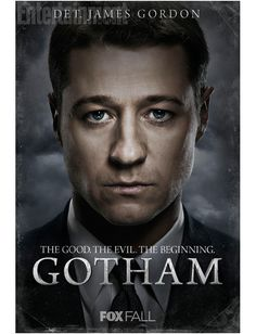 Before there was Batman, there was Gotham. Meet James Gordon, the hero you never knew. Gotham comes to Channel 5 at on Monday the of October. Gotham News, Gotham Tv Series, Smallville, Live Action, Gotham Season 1, James Gordon, Jim Gordon Gotham, Gotham Characters, Dc Comics