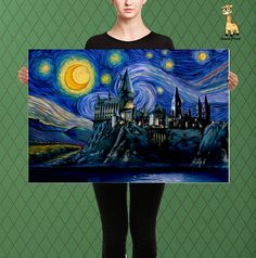 Harry Potter Inspired Hogwarts Hogwarts Parody Castle Starry