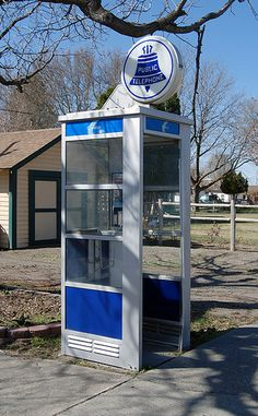 Remember when we used to have to look for one of these to make a call in public?