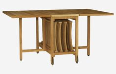 Table Pliante Chaises Integrees Home Design