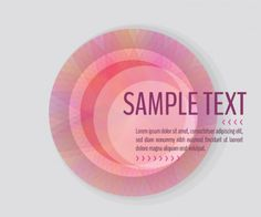 Pink banner template vector graphic