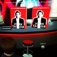 You can buy John Taylor's book on Second Life 9/16/12 #duranduran