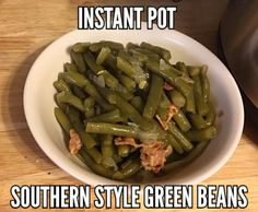 Instant Pot Pressure Cooker Southern Style Country Green Beans