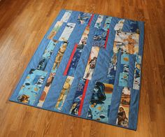 Star Wars Quilt | another finished star wars quilt - finger thumb