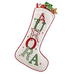 Personalized Christmas Stockings - Let's Personalize That Christmas Stockings, Christmas Ornaments, Presents, Snoopy, Seasons, Holiday Decor, How To Make, Needlepoint Christmas Stockings, Gifts