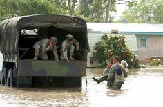 TEXAS FLOOD Military Vehicle Photos