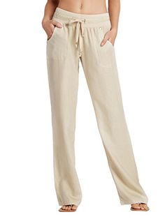 G by GUESS Women's Eleanor Linen Pants G by GUESS http://www.amazon.com/dp/B00QB6NY1O/ref=cm_sw_r_pi_dp_GxlIvb1VW6NMH