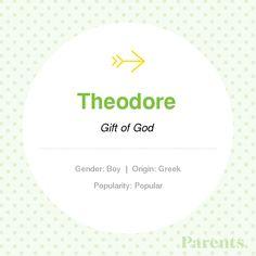 Baby Name: Theodore