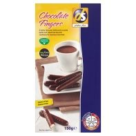 Gluten free chocolate fringers biscuits