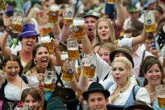 Oktoberfest in Germany. – Danny Oktoberfest in Germany. Oktoberfest in Germany. Oktoberfest Costume, Oktoberfest Beer, Beer Girl, More Beer, Lets Celebrate, Beer Lovers, Dance Music, Best Part Of Me, Root Beer