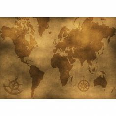 Old World Map Wall Mural $79.00 (http://www.majesticwallart.com/wall-murals/Vintage-Wall-Mural/Old-World-Map-Wall-Mural-Decal-Sticker-Art-Graphics-Wallpaper-Decor.htm)