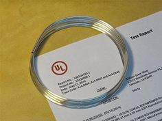 Golden State Silver 9999 Pure Silver 10 Gauge Wire  72 inch Coil 6 feet  UL Verified 9999 -- See this great product.