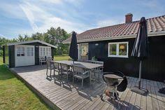 Strandhuisjes in Denemarken huis 4 strand