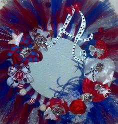 Houston Texans tulle wreath!