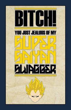 Super Saiyan Swagger