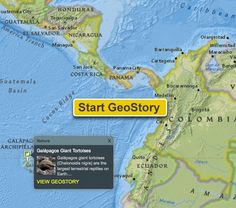 GeoStory: Tracking Animal Migrations