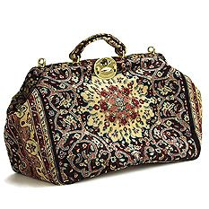 I love carpet bags, they look like you're going on an adventure on the orient express. Totally impractical though.