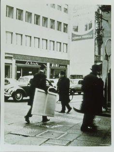 Giulio Paolini, 1/25, 1965, stampa fotografica su tela emulsionata, 130,3 x 95,5 cm