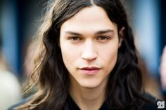 Model Miles McMillan after Diesel Black Gold, Fall/Winter 2012/2013 in New York City from Le 21ème
