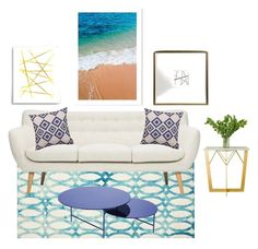 """Inspired Decor -Small Spaces"" by arhdesignhouse ❤ liked on Polyvore featuring interior, interiors, interior design, home, home decor, interior decorating, PBteen and LA CHANCE"