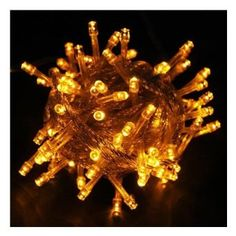 KK-LIGHT 220V Water-resistant 10M 100 LED Fairy String Lights with 8 Controllable Functions for Christmas Wedding Parties (Yellow): Amazon.co.uk: Lighting