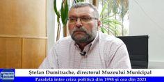 -VIDEO- Ștefan Dumitrache-paralelă între criza din 1998 și cea de acum