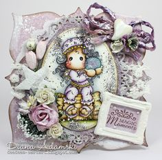 DeeDee´s Card Art: ♥ Live & Love Crafts DT - Magic Moments ♥