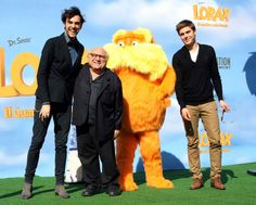 Marco Mengoni , Danny De Vito and Zac Efron are the voice cast of cartoon The Lorax