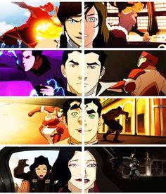 From Season 1 to Season ((( they grow up so fast))) Korra Avatar, Team Avatar, Bubbline, Korrasami, Avatar World, Avatar Series, Iroh, Fire Nation, Air Bender