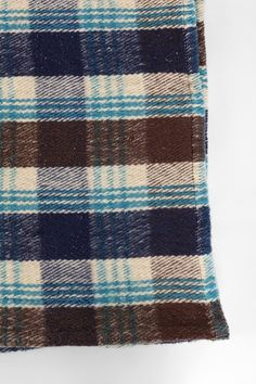 4040 Locust Winter Plaid Blanket - Urban Outfitters