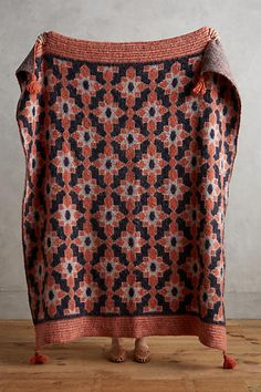Marianella Tasselled Throw - anthropologie.com