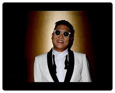 Mouse Mat $35: South Korean pop artist Psy, Jae-Sang Park, poses for photographs in Sydney.Mat made from high-density black Neoprene foam with cloth cover. Care Instructions: Lightly dust or vacuum with upholstery brush. Dimensions: 200 x 245mm