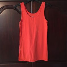 Tank top Orange color tank top Mossimo Supply Co. Tops Tank Tops