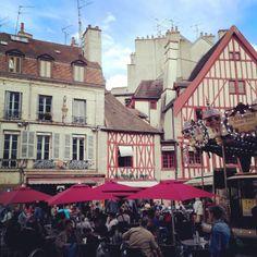 Place Rude, Dijon, France // A Beautiful Journey
