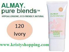Base Hipoalergénico Pure Blends  Almay Ivory 120