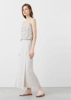 Premium - falda cupro - Faldas de Mujer   MANGO España