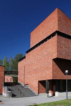 Säynätsalo Town Hall. Säynätsalo, Jyväskylä Finland. Alvar Aalto 1949-1952