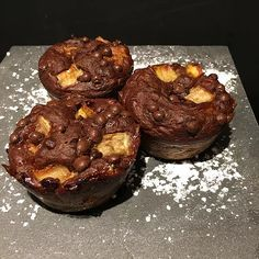 Muffins choco/banane 2 SP/muffin pour 12 muffins