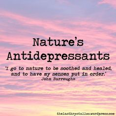 Nature's Antidepressants | The Last Krystallos #depression #antidepressants #nature