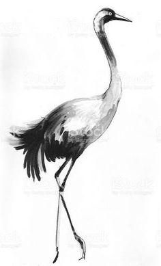 Resultado de imagem para ink crane