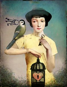 The perfect key, by Catrin Welz-Stein