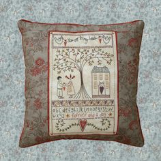 Shop | Category: Lynette Anderson Designs | Product: In My Heart Pillow