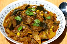 Recipe for slow cooker Punjabi eggplant with potatoes - The Perfect Pantry®