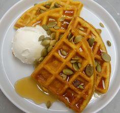 Sarabeth's Pumpkin Waffles