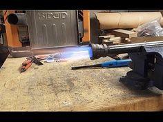 GPW 98 - DIY Forge Burner - YouTube
