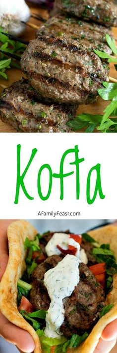 Kofta ~ a super flavorful alternative for your next summer cookout...these grilled meat skewers are fantastic!