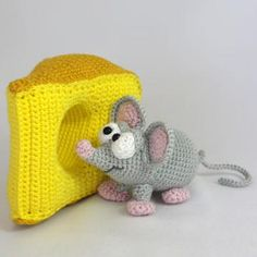 Manfred the mouse amigurumi pattern by IlDikko