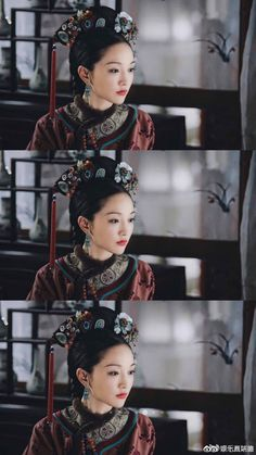 Chinese Style, Chinese Hair, Sheer Beauty, Oriental Fashion, Chinese Actress, Qing Dynasty, Chinese Culture, Hanfu, China Fashion