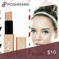 Nyx Luscious Butter Stick in Snow Caps Nyx Luscious Butter Stick in Snow Caps NYX Makeup Lipstick