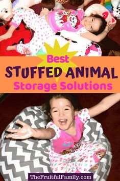 Sanity-saving stuffed animal storage solutions you and your kids will LOVE.